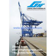 Grúa portuaria para grúas de carga y descarga de contenedores