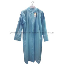 100% PVC Raincoat Raincoat Waterproof Windproof
