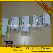 Fábrica de suministro fabricante de China deber hoja de aluminio estufa y horno con caja de corte