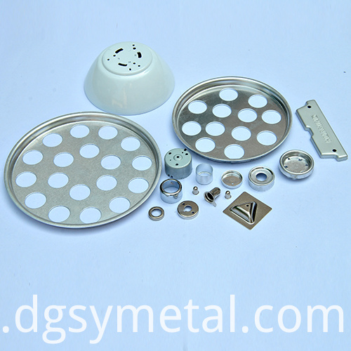 aluminum alloy lighting parts
