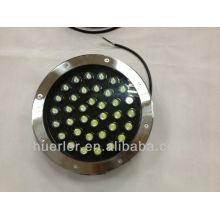 Beste Qualität 36w IP67 RGB / R / G / B / Y / W wasserdichtes Boden führte Licht