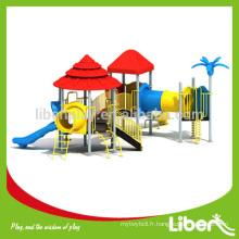 Children School Slides Équipement de terrain de jeu extérieur, équipement de terrain de jeu extérieur utilisé