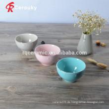Farbverglasung gut aussehende Keramik Pudding Schüssel