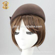 2015 Sombrero 100% de Fedora de las lanas de las mujeres elegantes de calidad superior calientes