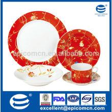 kitchen utensil new bone China company royal tableware set
