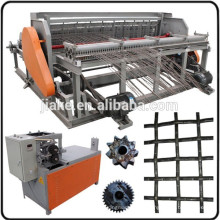 Métier à tisser semi automatique d'écran de mine de treillis métallique serti