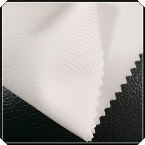 Poly Cotton White Twill Fabric