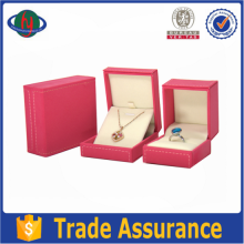 Top Quality Customized Handmade Plastic Jewelry Set Box