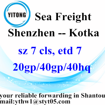 Shenzhen a Kotka International Freight agente