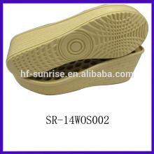 SR-14WOS002 pu outsole china wholesale pu sole ladies sandals pu sole italian pu sole