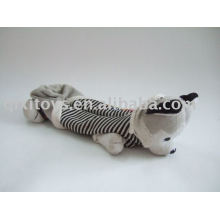 plush and stuffed animal dog school pencil case
