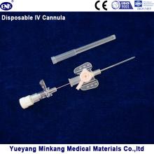 Blister verpackt Medizinische Einweg IV Kanüle / IV Katheter Schmetterling Typ 20g