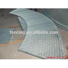 Suelo de rejilla de acero galvanizado por inmersión en caliente
