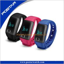 Montre futée intelligente d'Assiatant de soins de santé de bracelet intelligent avec la couleur de sucrerie