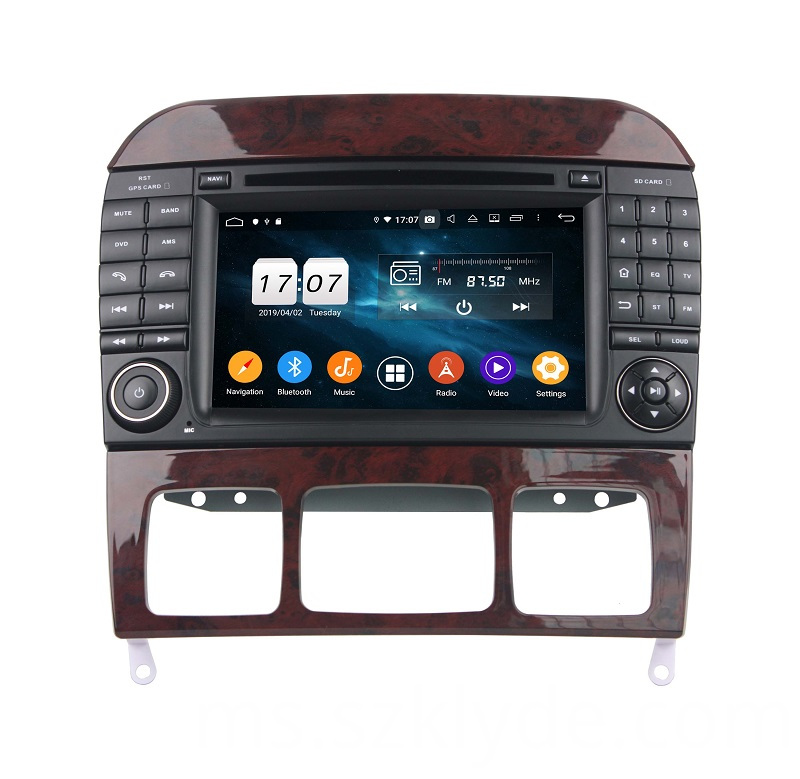 2019 Car Radio For S Class