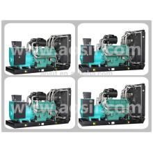 Wuxi Marca P3 440kw / 550kva Standby Generador Portátil Con Motor Wandi