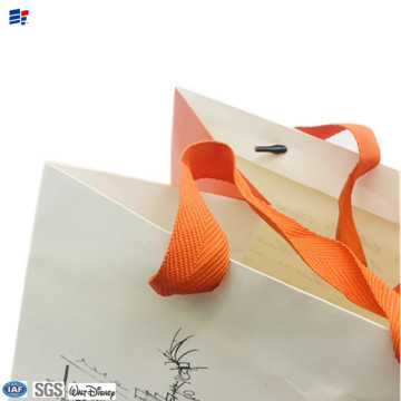 bolsa de embalaje de regalo plegable de papel