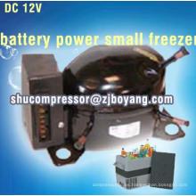 Compresor de refrigerador de 12 voltios Unidad de condensación de compresor de 12 v DC Unidades de refrigerante de 12 voltios para mini acondicionador de aire portátil