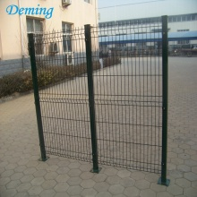 PVC Coated 3V Bentuk Welded Triangle Bending Fence