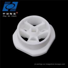 Aislante de cerámica de calefacción eléctrica de esteatita blanca