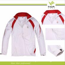 Wholesale Polyester Windbreaker Jacket /Customized Dust Coat (F135)