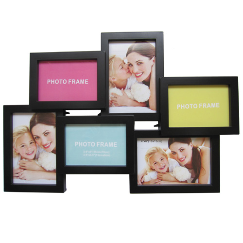 Six opening family collection frame china manufacturer - Six pictures photo frame ...