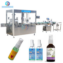 JB-PX4 automatic bottle filling capping and labeling machine for nasal spray