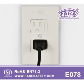 Plat Child Safety Electrical Outlet Cover