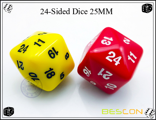 24-Sided Dice 25MM-2