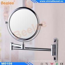 Espejo de maquillaje de baño montado en la pared con aprobación CE