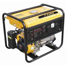 6kw aprobación CE Wahoo gasolina generador solo cilindro (WH7500-X)