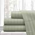 Cotton 1cm Stripe Bed Sheet 300TC