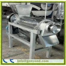 Máquina extractora de jugo industrial de acero inoxidable