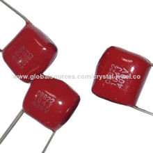CBB22 Polypropylene Film Capacitors, Has Very Low-loss at High-frequency, Widely Used in DC, ACNew