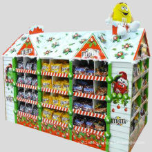 POS Paperboard Pallet House Display for Chocolate Beans