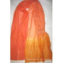 Mantón sombreado tejido de cachemira y lino