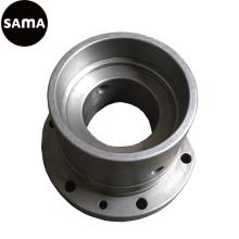 Fundição de flange de ferro personalizada com maquinagem de precisão