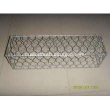 Galvanized Gabion Of Twisted Hexagonal Wire Mesh