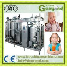 Linha de produção de sorvetes de linha combinada de produção combinada de 1000L / H