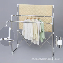 Stainless Steel Multi-Bar Telescopic Clothes Hanger
