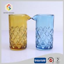 venta por mayor hecho a mano 500ml cóctel mezcla de vidrio