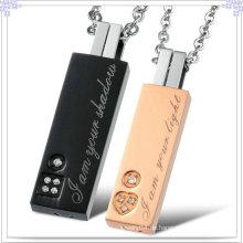 Edelstahl-Schmucksache-Art- und Weisezusatz-Halskette (NK151)