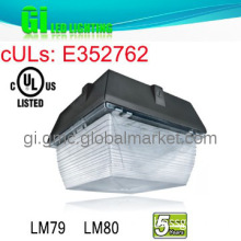UL cUL with 5 years warranty LED light for gas station canopy