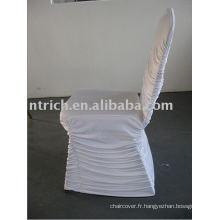 Couverture de chaise Lycra Wrinkle, couverture de chaise de Banquet/mariage