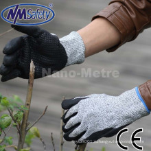 NMSAFETY порезостойкие перчатки - высокий уровень производительности 5 защиты, еды