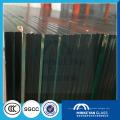 Heißer Verkaufs-Siebdruck 6.38mm Gebäudesicherheit lamelliertes Gewebe-Glas für Trennwand