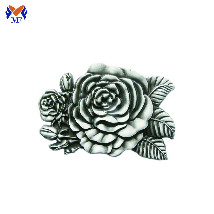 Flower Design Buckle