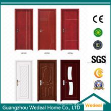 Puerta de madera interior compuesta de alta calidad del MDF HDF de la laca pintada