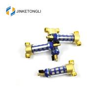 JKTLQZ080 stainless steel mesh brass pre reverse osmosis water filter