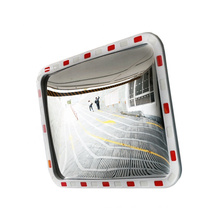Amazon Top Sales Outdoor Safety Reflective Square Rectangular Convex Mirror, Traffic Safety PC Convex Mirror/